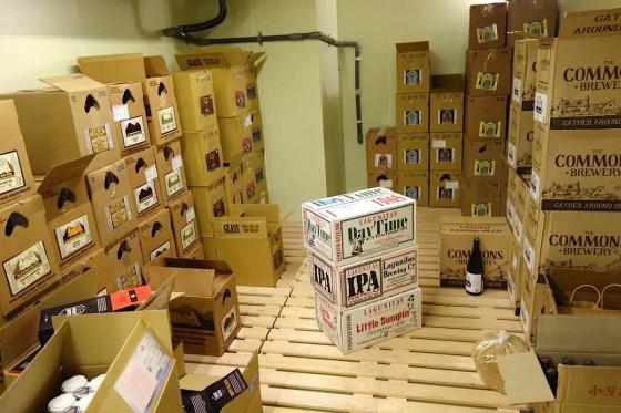 たくさんのビールが!