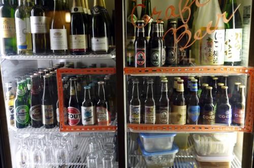 冷蔵庫にはクラフトビールが!