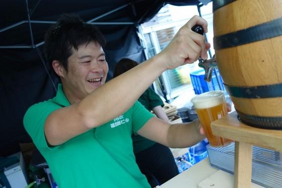 福島路ビール!