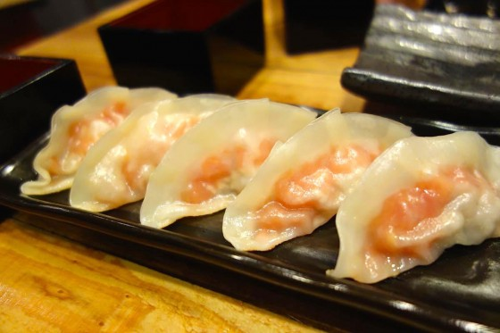 トマト餃子(500円)