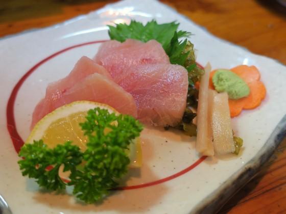 赤まんぼう刺身(700円)
