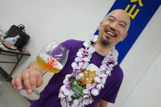 大山Gビール 岩田さん