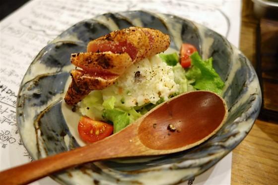 まるごと明太ポテトサラダ・ハーフ(290円)