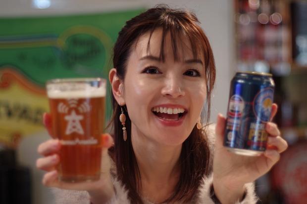 ビールを選びました!