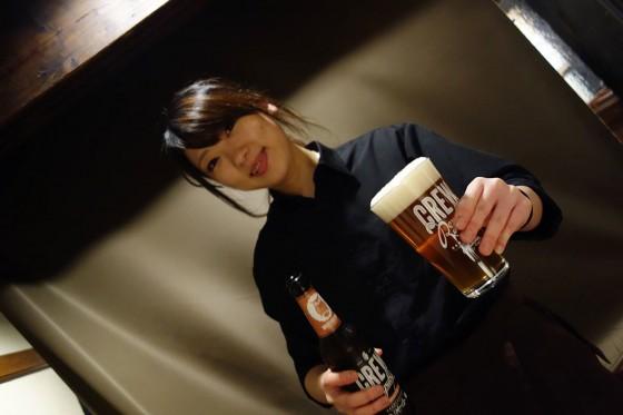ビール7杯目!