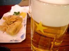 有楽町「うた」 生ビール?
