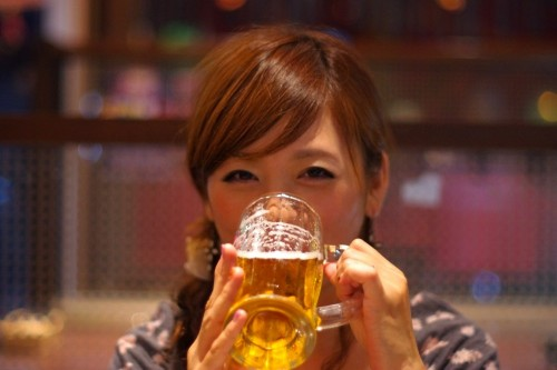 いい飲みっぷり!