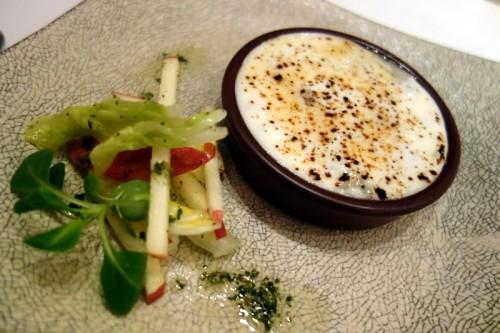 自然薯と寒締め白菜のとろとろグラタン