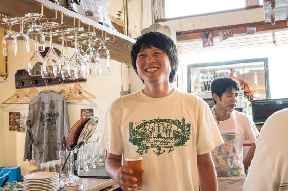 横浜ビール 五條さん