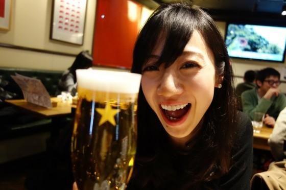 美人乾杯!