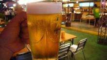 ビールはサッポロ