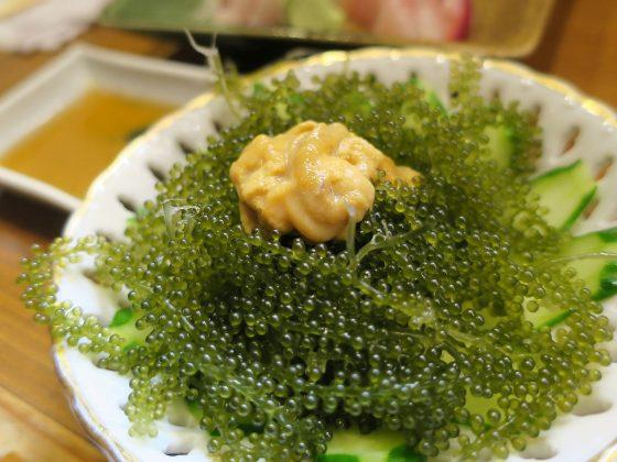 海ぶどう(520円)