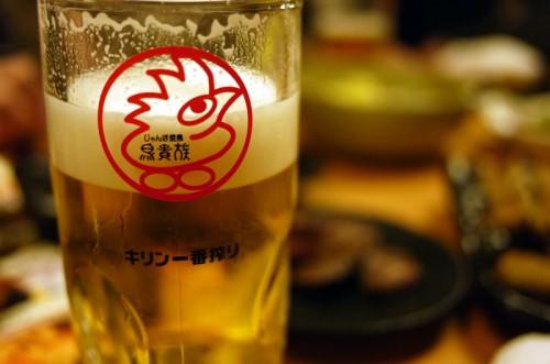 鳥貴族 ビールは一番搾り