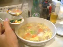 東北菜館 トマトと玉子のスープ