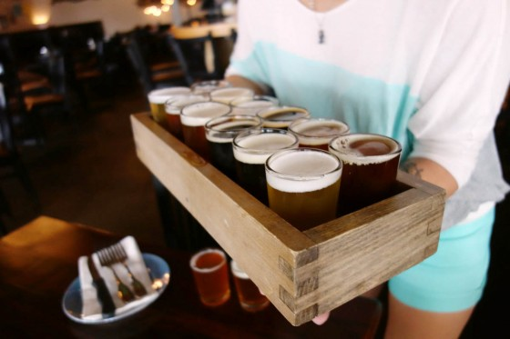 Beer taster set