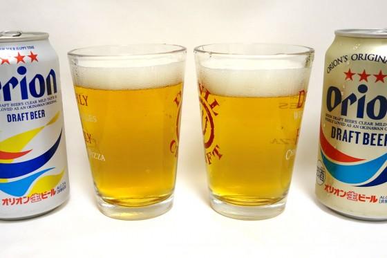 ビールの見た目は…