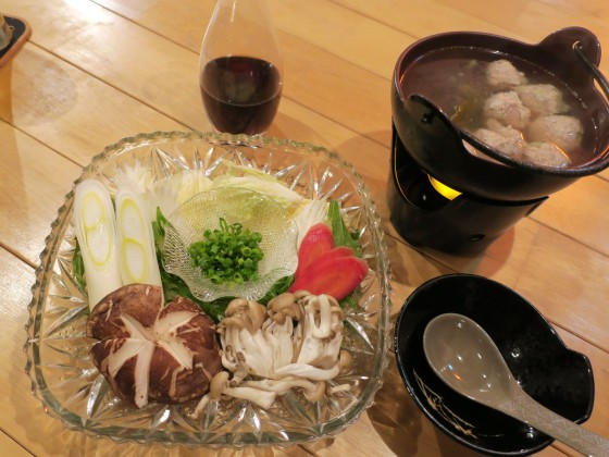 つみれ鍋(730円)