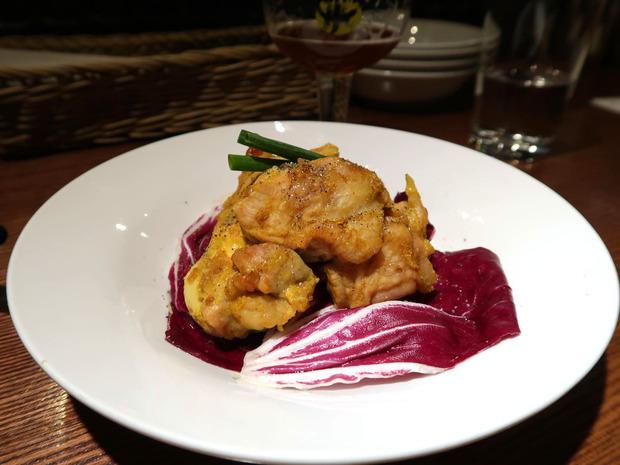 大山鶏の梅カレーグリル