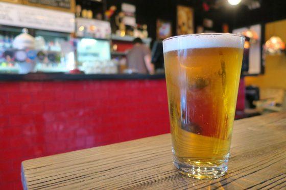 ベベモスでビール