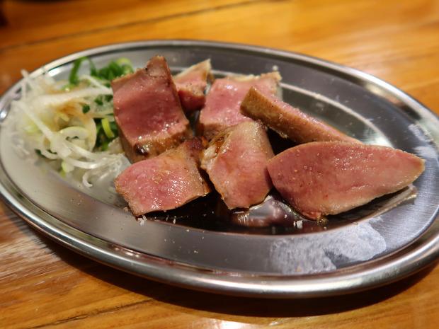 タンのたたき(350円)
