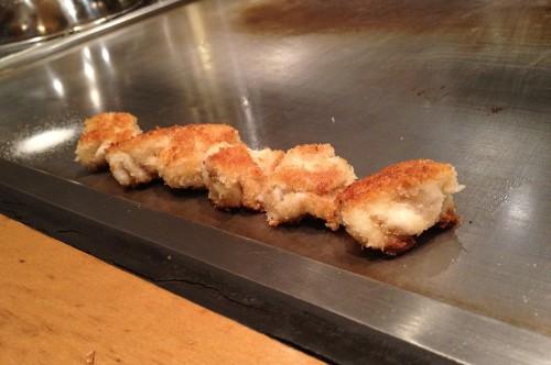 白子のパン粉焼き