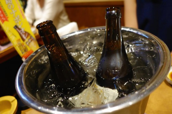 瓶ビールです。