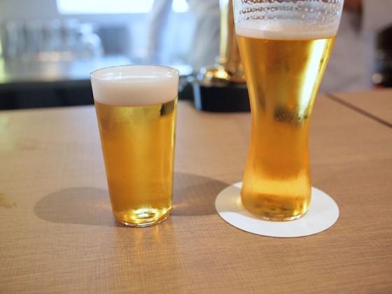 2℃と6℃のビールを飲み比べ