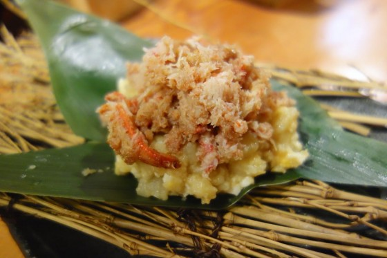 ズワイガニポテタマサラダ(450円)