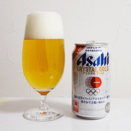 アサヒビール アサヒ クリスタルゴールド