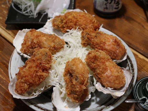 牡蠣フライ(1P・360円)