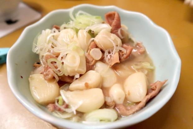 にんにくもつ煮(400円)