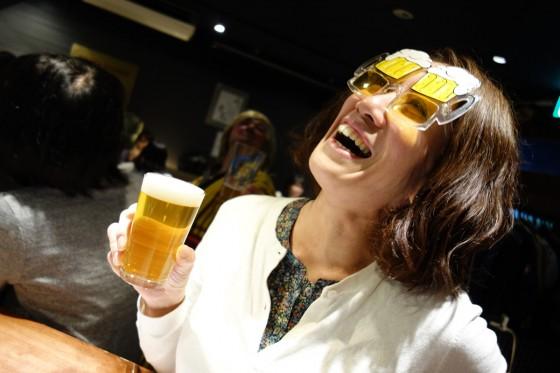 ビールメガネ