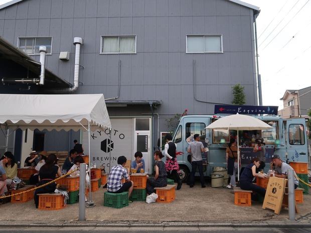京都醸造の工場