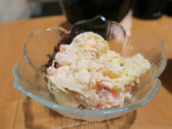 カリカリ梅のポテトサラダ(120円)