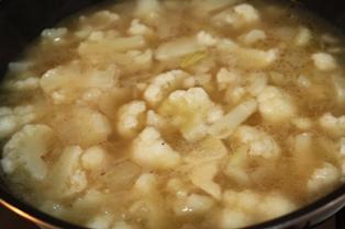 たかシェフのおうちごはん。-カリフラワー スープ