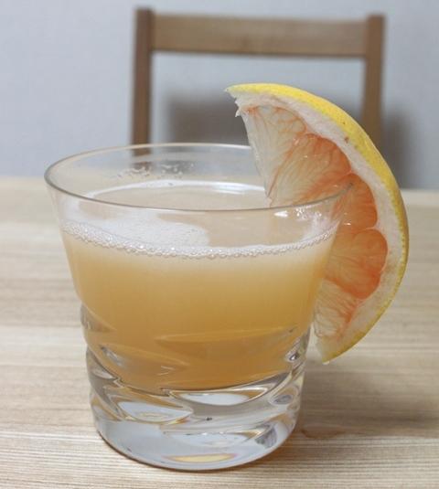 ■ホットジンジャーグレープフルーツジュース ~チャレンジ8Day~