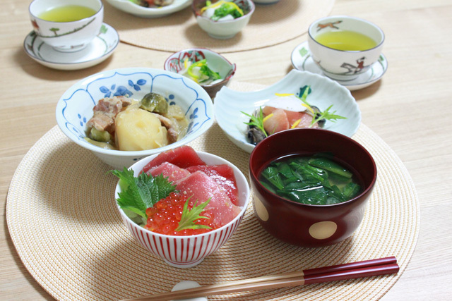 ■ベジタフルの野菜で晩ごはん。