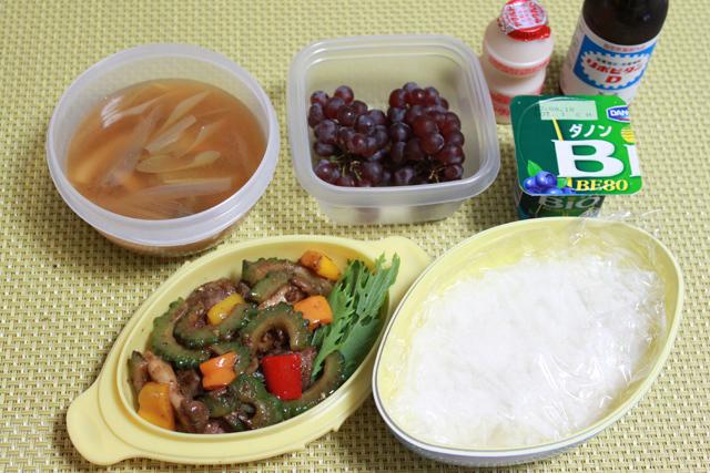 ■今日の残り物お弁当とデニーズ