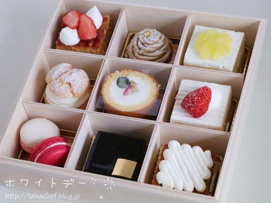 【ホワイトデー】理想の大きさになって登場した、SATSUKIのケーキ!