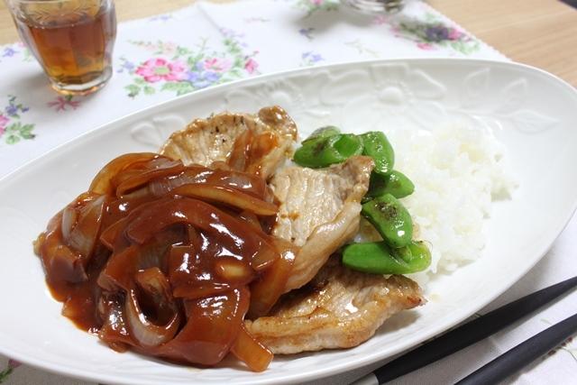 ■豚肉のケチャップ炒め