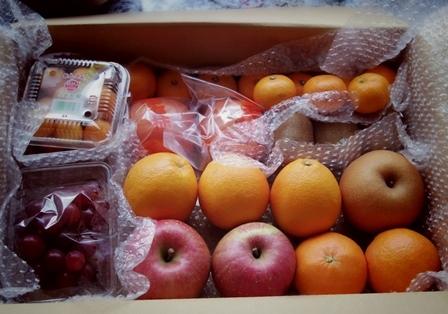 ■フルーツが来た!!