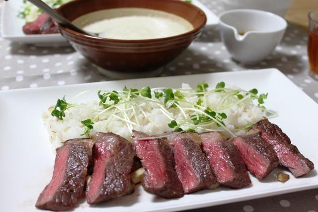 ■麦とろステーキ