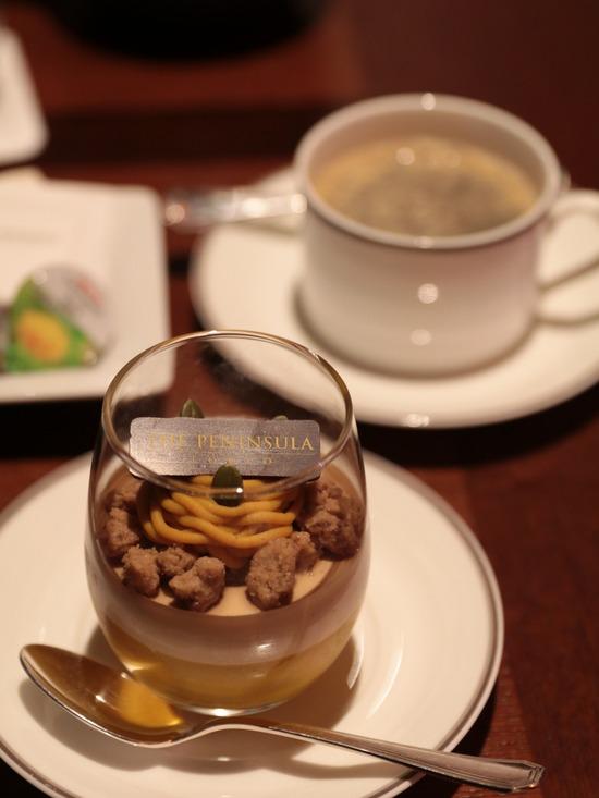 【ペニンシュラ東京】夜のお茶タイム