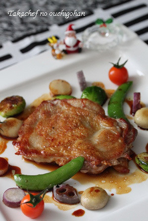 皮がバリバリは鶏肉の美味しい焼き方。 本川越シェフ編