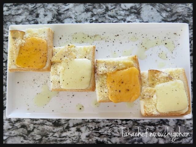 ■懲りずにチーズトースト