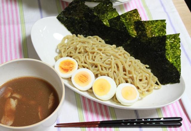 ■つけ麺・・・じゃなくって「ゆで卵」の実験