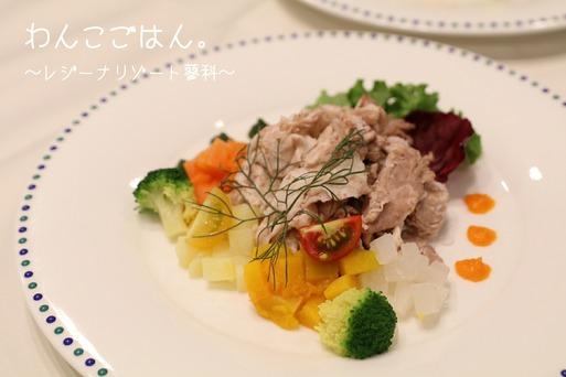 【犬旅】夜ご飯。