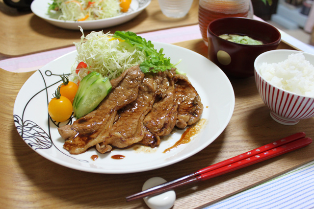 ■ふつ~の生姜焼き