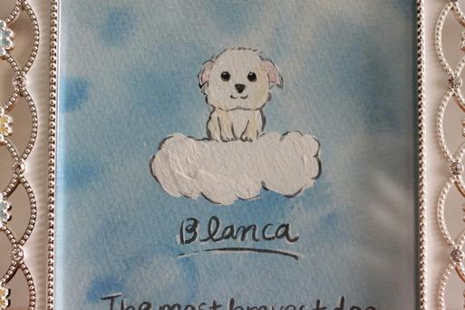子犬のブランカ
