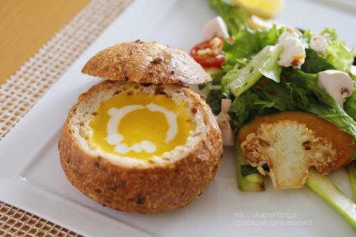 【料理】パンプキンスープでランチ。